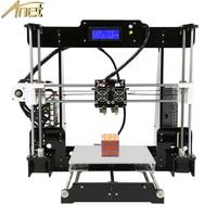 Anet A8 Two Color 3d Printer 2019 Factory Price Reprap Prusa i3 Cheap 3d Printing Machine Dual Nozzle Dual Extruder 22*22*24CM