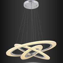 Silver Modern LED Pendant Lights For Diningroom Livingroom hanglamp luminaria suspension luminaire Lamp lights Fixtures