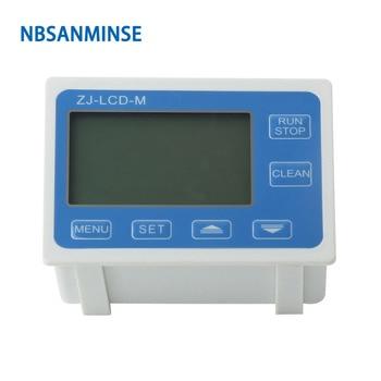 NBSANMINSE MCD-M Flow Quantitative Controller Instrument Meter Water Table Quantitative Meter Flow Sensor Pipe Automatic Warning mystery mcd 646mpu