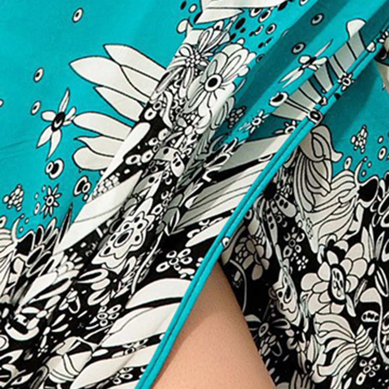 Women Beach Dress Sexy Sling Beach Wear Deep V Neck Dress Sarong Bikini Cover-ups Wrap Pareo Towel Flower Open-Back hot selling 5