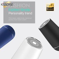 KISSCASE Portable wireless Bluetooth overweight subwoofer Metal High quality Speaker
