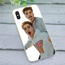 Print Soft TPU Silicone Cover for iPhone 6S Plus Martinez Twins Phone Case 7 8 plus X Xs Max XR 5 5s se 6 Skin