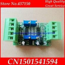 Sensore di pesatura modulo amplificatore trasmettitore 4 20MA 0 5 V corrente tensione di cella di carico amplificatore Amplificatore di Segnale Broad Trasduttore