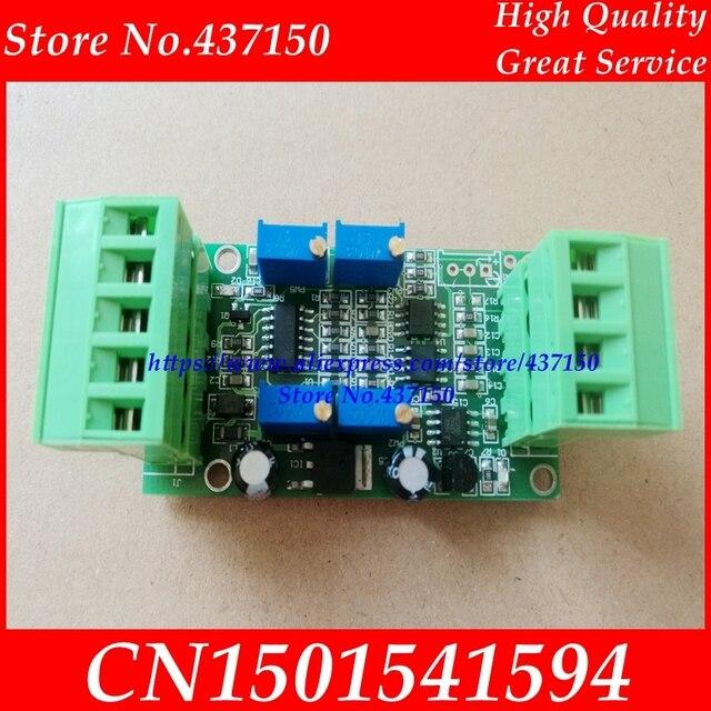 Transdutor largo do amplificador do sinal do amplificador da pilha de carga da tensão atual do módulo 4 20ma 0 5 v do amplificador do transmissor do sensor de peso