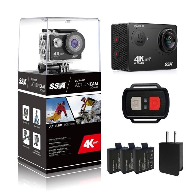 SSA Original cámara de Acción Ultra HD 4 K/25fps WiFi 2.0 \