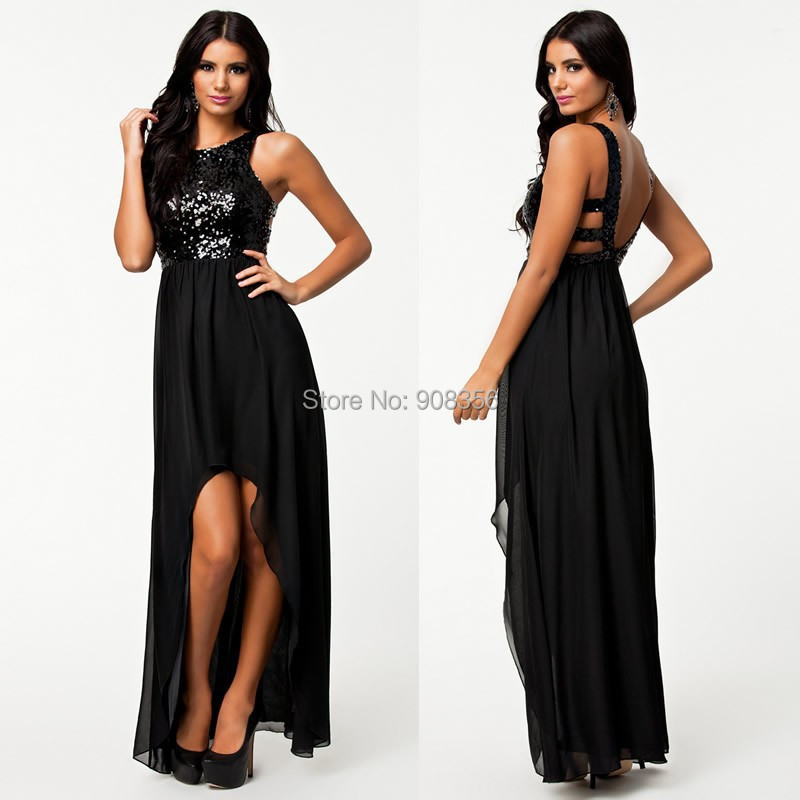 Compare Prices on Black Asymmetrical Dress- Online Shopping/Buy ...