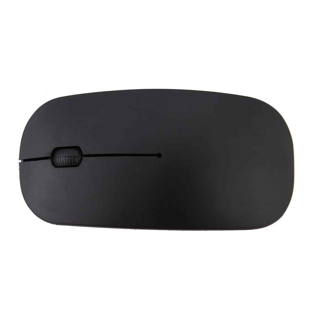 Souris optique sans fil Ultra mince USB 2.4G récepteur souris Super mince ordinateur sans fil PC ordinateur portable de bureau