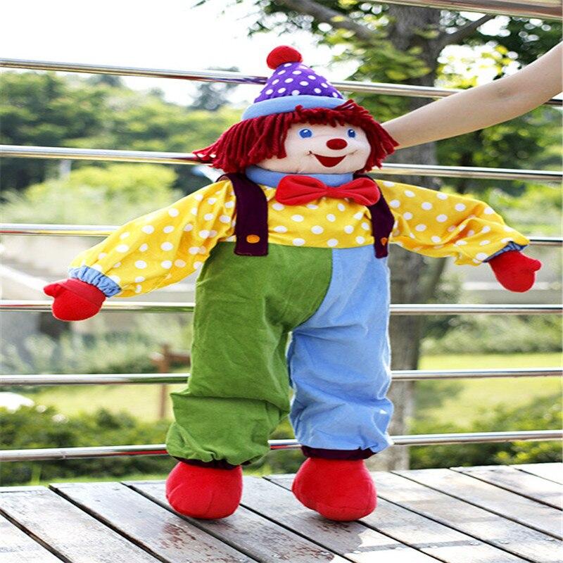 Doub K 85 cm cirque clown poupées en peluche jouets pour enfants apaiser poupée saint valentin cadeaux sommeil oreiller scène performance accessoires-in Animaux en peluche from Jeux et loisirs    3
