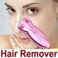 Mujeres Enfrentan dispositivo de depilación eléctrica herramientas Cara de Cuerpo de epilator Del Removedor Del Pelo Facial para las mujeres Hilo de Algodón Despluma La máquina de Afeitar de Epilator