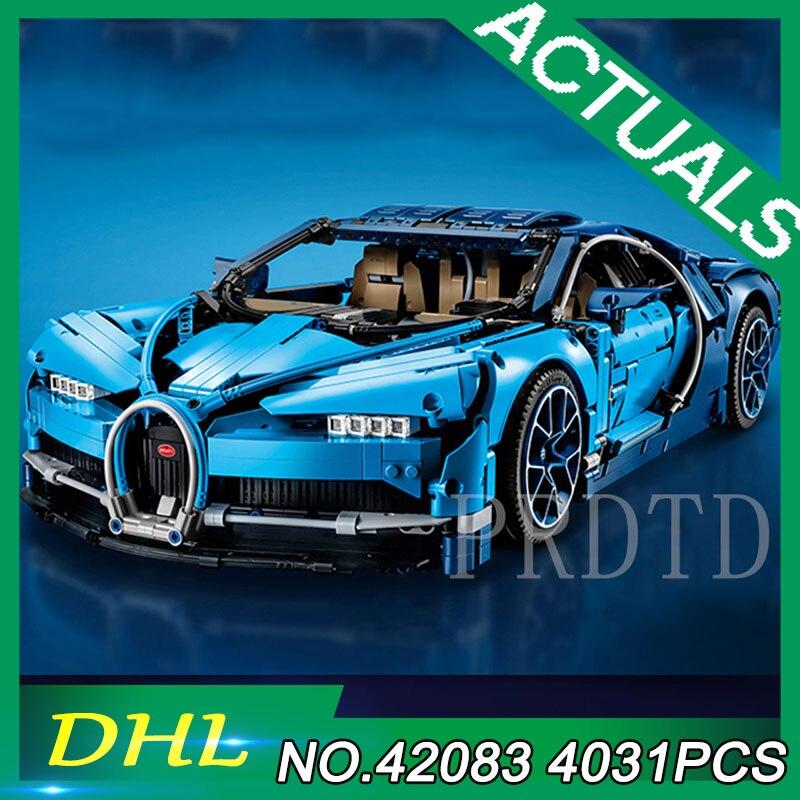 42083 4031 pièces Bugattied voiture de course Chiron Compatible avec Legoings Technic modèle blocs de construction briques bricolage jouets enfants cadeaux
