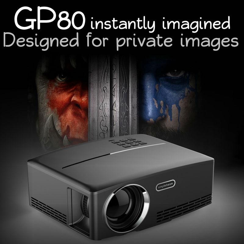 Vivibright GP80 Mini projector (15)