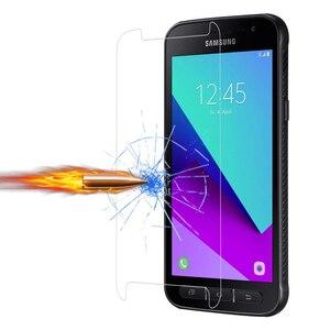 Image 3 - 9 H Gehärtetem Glas für Samsung Galaxy Xcover 4 G390F Screen Protector für Samsung Xcover 3 G388F Schutz Glas für X Abdeckung 3 4