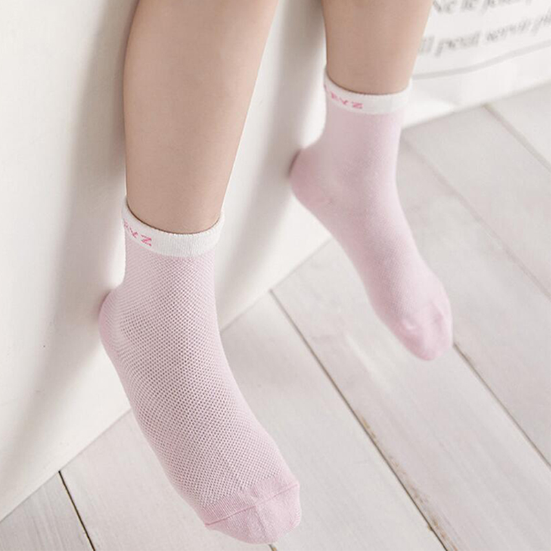 5Pairs/lot Infant Baby Socks Summer Mesh Thin Baby Socks for Girls Cotton Newborn Boy Toddler Socks Baby Clothes Accessories 5
