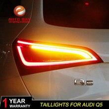 Набор для автостайлинга для Audi Q5 2009-2015 задние фонари светодиодная сигнальная лампа задний фонарь задний лампы ДРЛ + поворотник + тормоза + обратный