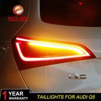 Car Styling Case for Audi Q5 2009 2015 Taillights Tail lights LED Tail Lamp Rear Lamp DRL+Turn Signal+Brake+Reverse