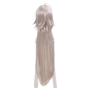Image 4 - L email wig Fate/Grand Order Jeanne dArc Ruler Cosplay Wigs 95cm Long Heat Resistant Synthetic Hair Perucas Cosplay Wig