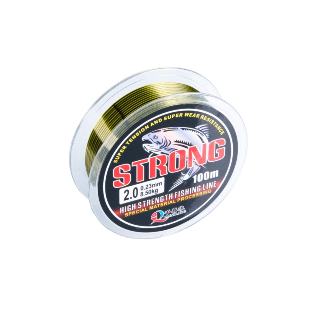 100m Fluorocarbon Fishing Line 0.6#-7# Leader Wire Nylon Fishing Cord Accessories the Winter Rope Fly Fishing Lines