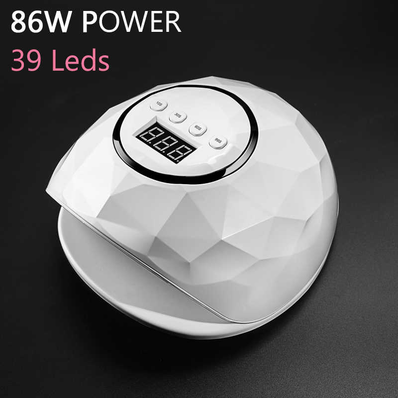 High Power Nail Dryer 86W Gel Lamp For Nails F5 F6 Smart Sensor Quick Drying SUNUV LED Lamp All Gels Polish Nail Art Tools