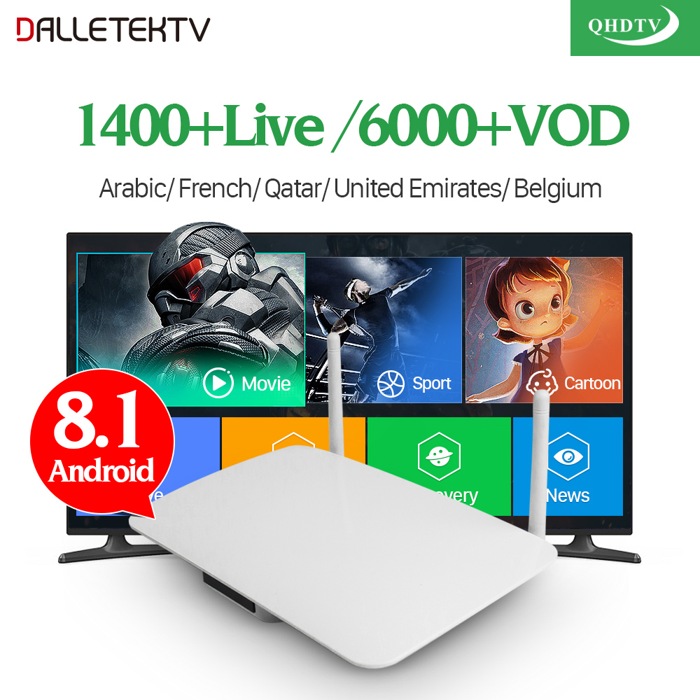 IPTV Arabic Box Android 8.1 Set Top Box With QHDTV IPTV Subscription IPTV Arabic France Belgium Netherlands Tunisia Algeria     IPTV Arabic Box Android 8.1 Set Top Box With QHDTV IPTV Subscription IPTV Arabic France Belgium Netherlands Tunisia Algeria