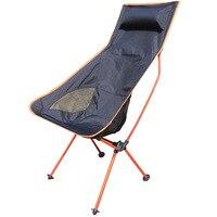 Taşınabilir hafif Katlanır Kamp Tabure Sandalye Koltuk Çantası Turuncu Festival Piknik BARBEKÜ Plajı Balıkçılık Için Mavi Kırmızı Gökyüzü-mavi
