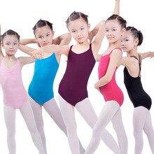 Crianças Trajes De Dança Latina Para Meninas Crianças Dancewear Ballet Macacão Collant Roupas de Ginástica