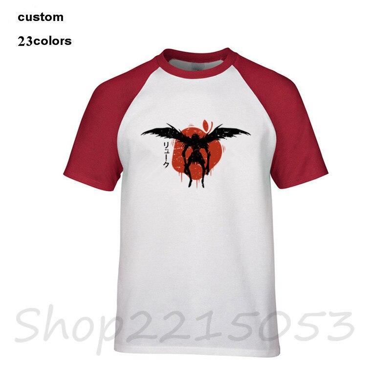 0afcbbf795b2b 2018 Japan style Ryuk Death Note Men T-Shirt harajuku one piece camisetas  juventus camiseta thanos male t shirt one punch tshirt