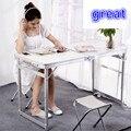 Портативный складной Лифт офисный стол белый Рабочий стол Зеленый Синий Бесплатная доставка