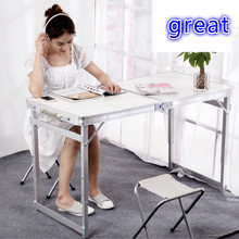 купить portable folding lift office desk white desk work desk green blue free shipping дешево