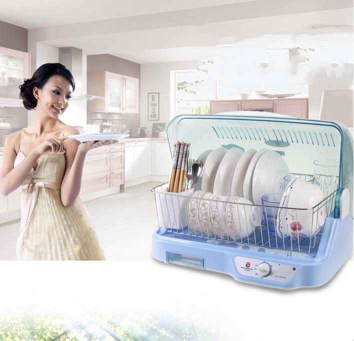 Free Shipping Household Kitchen Low-temperature Disinfection Cabinet White / Blue Available 220V 250W Ultraviolet Disinfection