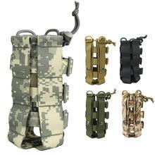 Открытый Molle бутылка для воды сумка тактическое оборудование пакет для чайника армейских фанатов скалолазание кемпинг походные сумки
