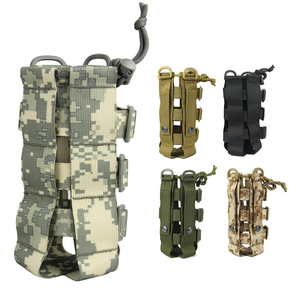 Outdoor Molle Water Bottle Bag Tactical Equipment Teapot Bag Army Fans Climbing Camping Hiking BagsOutdoor Molle Water Bottle Bag Tactical Equipment Teapot Bag Army Fans Climbing Camping Hiking Bags