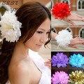 Новое поступление летний стиль аксессуары для волос цветок упругие глава веревка манжету свадебные корсаж оптовая продажа
