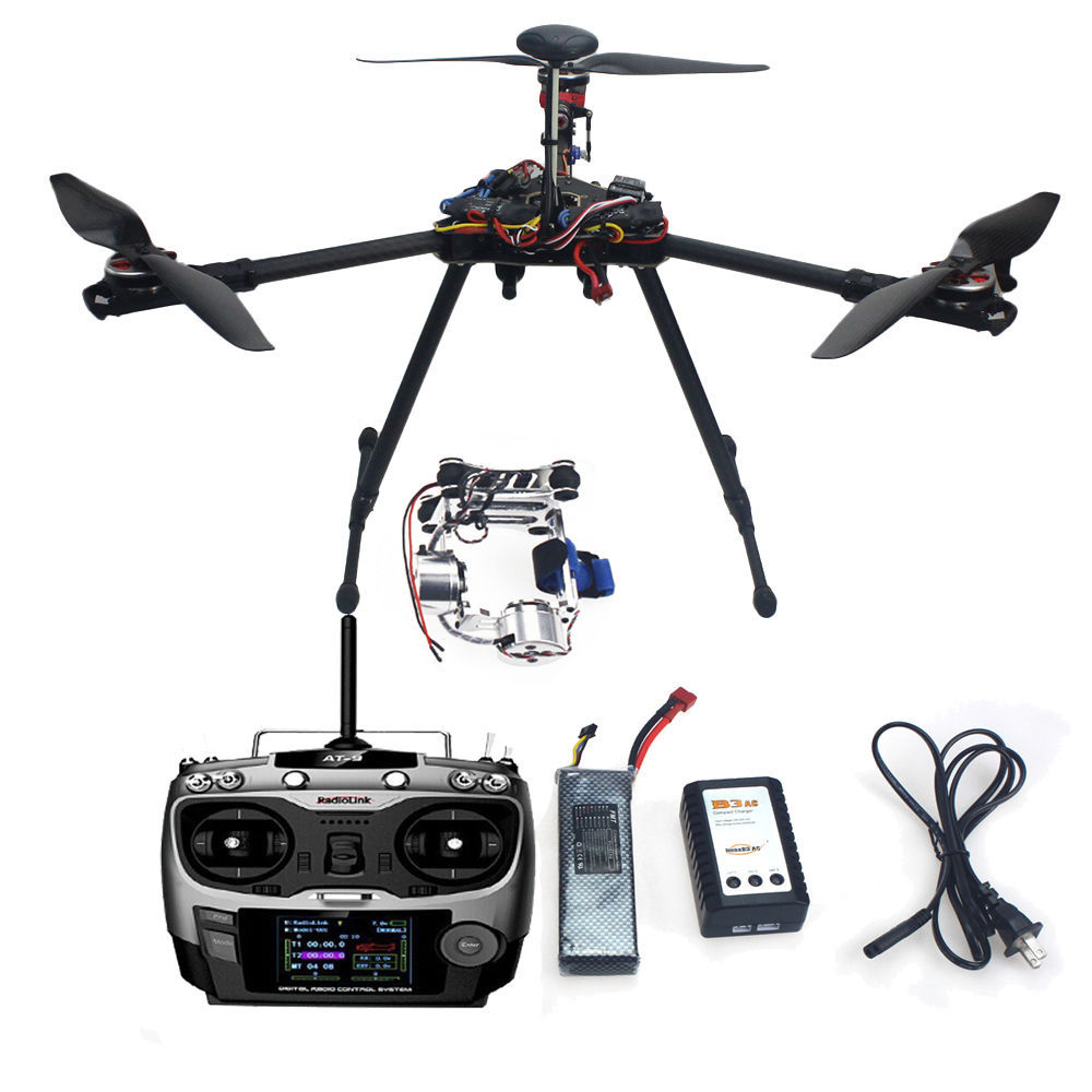 F10811-A  Assembled Full RFT Kit HMF Y600 Tricopter 3 Axle Drone Copter with APM2.8 GPS Gimbal Aircraft f10811 hmf y600 tricopter 3 axle copter frame kit w high landing gear & gimbal hanging rod fpv rc drone y3