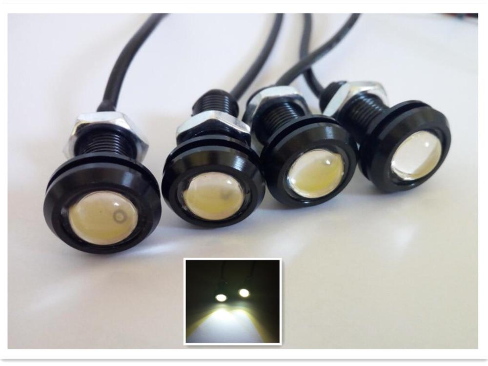 Boat Garboard White LED Plug Light 3/4