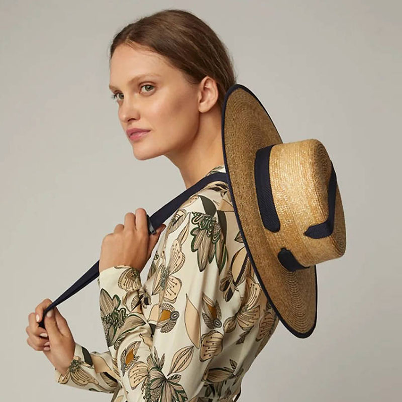 2019 New 11cm Wide Brim Summer Beach Hat Wheat Straw Hat Cap Women Kentucky Derby Sun Hat Ribbon Tie Boater Hat For Vacation
