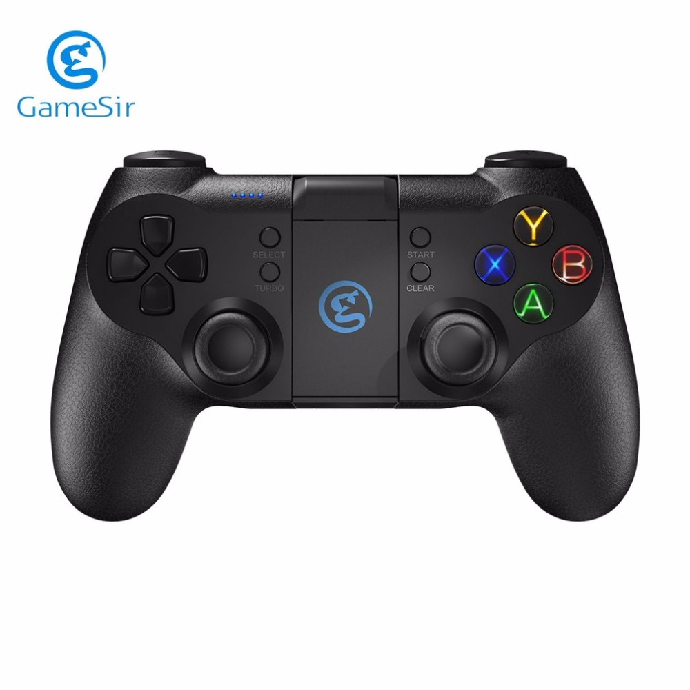 GameSir T1 Gamepad Controller Bluetooth Wired Joystick 3 MCU Chip Backlight For Android Phone PS3 PC gamesir f1 gamepad game controller phone analog joystick grip for all android