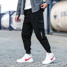 купить Summer New Pants Men Fashion Multi-pocket Overalls Man Streetwear Trend Wild Hip-hop Loose Casual Joggers Sweatpants M-5XL по цене 1117.35 рублей