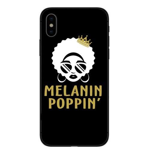 Coque de téléphone Mélanine Poppin Pour iPhone X 8 8 Plus 7 7 Plus 6 6 s Plus 5 5S SE 2 3