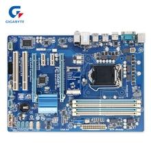 Gigabyte GA-Z77P-D3 оригинальный использоваться для настольных ПК Z77P-D3 Z77 разъем LGA 1155 i3 i5 i7 DDR3 ATX на продажу