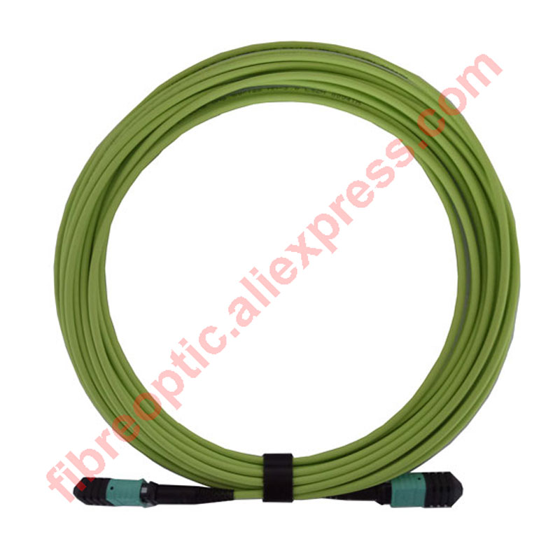 OM5 MPO (F) - MPO (F) patch cord Standard Loss, 7m, 12 cores MMF, Type B, lszh 3.0mm jacket,