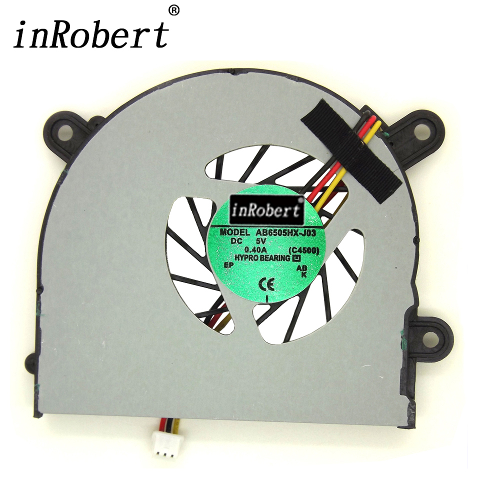 Laptop CPU Cooling Fan AB6505HX-J03 AB6605HX-J03 For MSI S6000 X600 CLEVO 7872 C4500 Positivo BS5005HS-U89 W7425 Cooler Fans 2017 new fashion summer style casual travel backpacks korean backpack for teenage girls female pu leather school bags mochila
