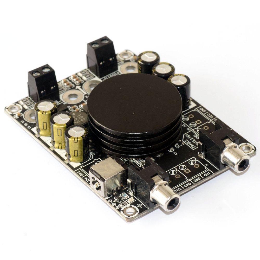 цены на Class D digital audio amplifier board high power 2x 50W HIFI TPA3116 amplifier finished board в интернет-магазинах