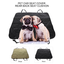 Car Pet Seat Covers Waterproof Back Bench Seat 600D Oxford Car Interior Accessories Travel Car Seat