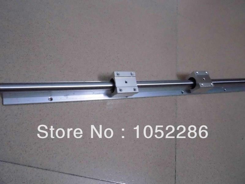 ФОТО 2pcs SBR30 -L1000mm Linear rail + 4pcs SBR30UU Bearing Block for cnc