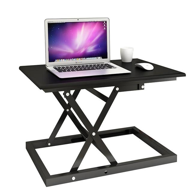 Standing Folding Computer Desk Pre Assembled Stand Up Desk Converter
