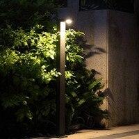 Открытый сад лампы светодиодные 220 В 6 Вт пейзаж огни садовая дорожка огни простой трава светильник