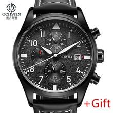 2016 Original de la Marca OCHSTIN hombres calientes relojes de pulsera hombres reloj de cuarzo Multifunción reloj deportivo hombre Reloj hombre Relogio masculino