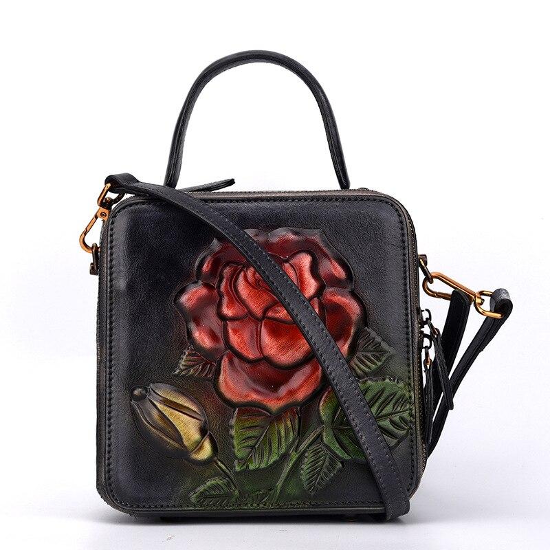 2018 prawdziwej skóry torebki dla torba damska torba wysokiej jakości panie ze skóry naturalnej torby na ramię mody kobiet torebki w Torebki na ramię od Bagaże i torby na  Grupa 1
