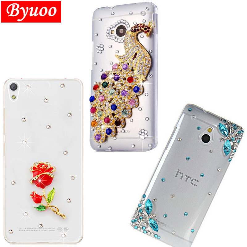Crystal Case Phone Coque Cover For Htc Desire 12 10 Pro Bolt U Play Desire 816 728 616 X10 U11 Life One M7 M8 M9 E8 E9 Plus Case