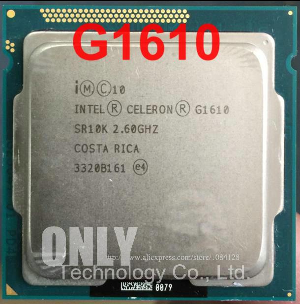 Intel Celeron Processor G1610 (2M Cache, 2.60 GHz) Dual ...